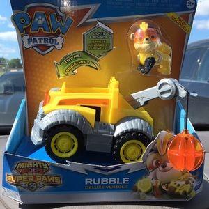 Paw Patrol Rubble light & sounds vehicle